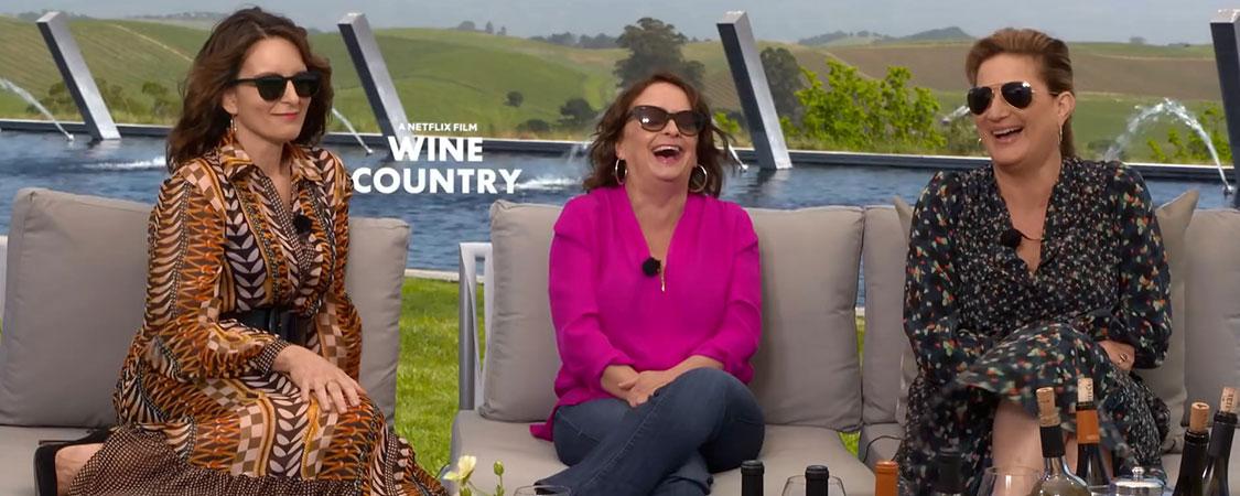'Wine Country' Press Junket
