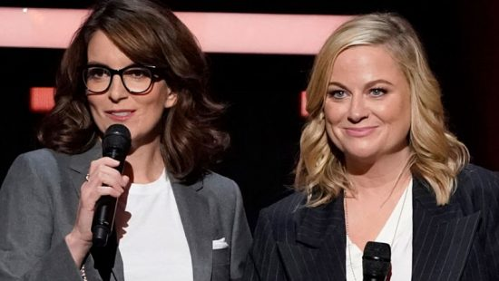 Tina Fey and Amy Poehler attend the 2019 NBC Upfront