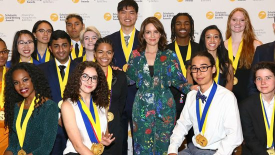 Tina Fey attends the 2019 Scholastic Art & Writing Awards
