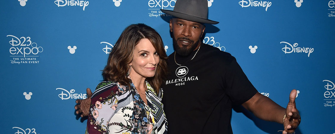 Tina Fey attends Disney's D23 Expo