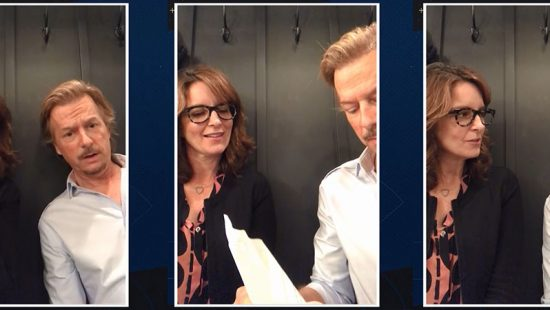 Tina Fey appears on Lights Out with David Spade
