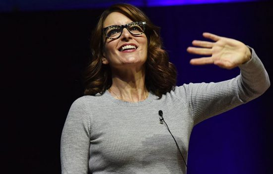 Tina Fey Speaks at Hamilton College's Great Names Series