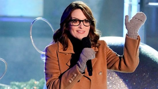 """Tina Fey introduces the """"Mean Girls"""" Broadway Cast at Christmas in Rockefeller Center"""