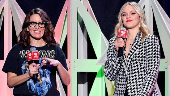 Tina Fey attends iHeartRadio's Z100 Jingle Ball 2019
