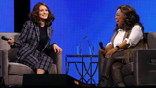 Tina Fey attends Oprah's 2020 Vision Your Life In Focus Tour