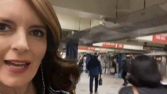 Tina Fey appears on The Tonight Show's Subway Special