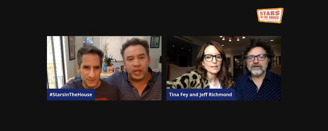 Tina Fey and Jeff Richmond join Stars in the House Live Stream