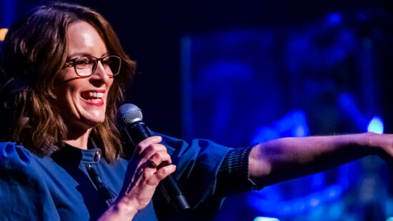 Tina Fey attends the 5th Annual Love Rocks NYC Concert